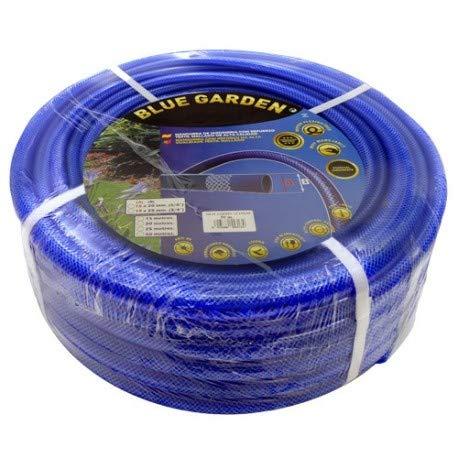 Suinga tuinslang, versterkt tegen diefstal, 19 mm. Spoel 50 meter slang van PVC gelamineerd. Versterking met beveiligde spanner