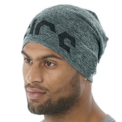 ASICS PFM Slouch Beanie Hampton Green Heather