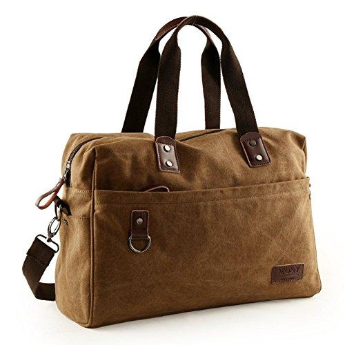 Sincere® L'Europe sac de toile de marée / grand sac d'épaule de capacité / sac extérieur / sac Messenger / sac-Brown 1