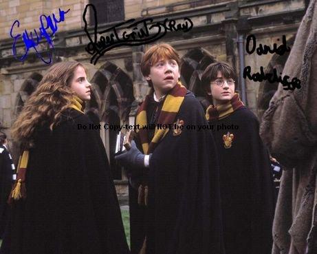 Daniel Radcliffe Harry Potter Autographed Preprint Signed 11x14 Poster Photo 1