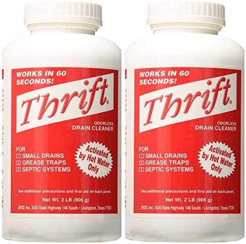 Thrift Marketing GIDDS TY 0400879 Drain Cleaner 2 lb Two Pack product image