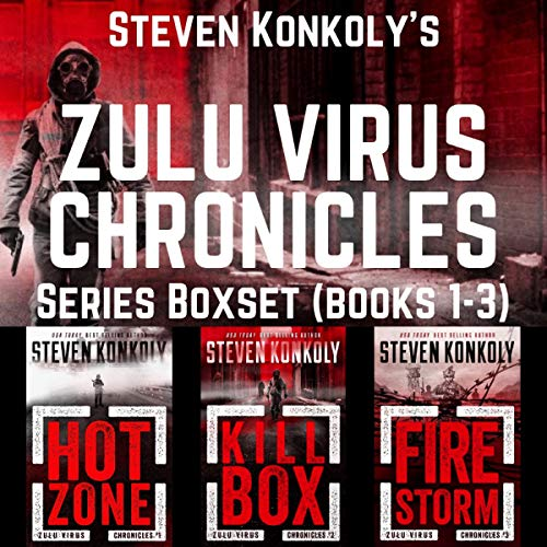 The Zulu Virus Chronicles Boxset (Books 1-3): A Post-Apocalyptic Thriller cover art
