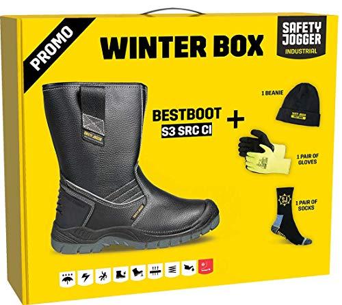 Safety Jogger BESTBOOT, Unisex - Erwachsene Arbeits & Sicherheitsschuhe S3 , Farbe: Winter Box, Gr: 46