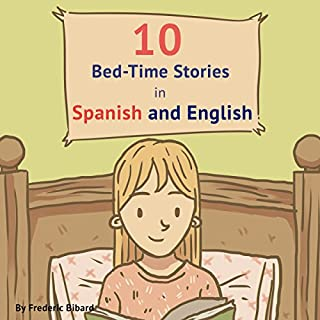 10 Bed-Time Stories in Spanish and English with Audio cover art