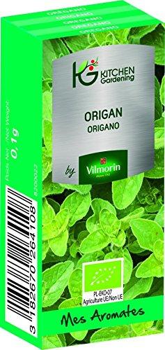 KG BY VILMORIN 8200022 Origan Bio, Vert, 7 x 3 x 2 cm