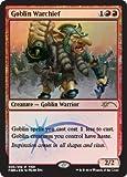 Magic: The Gathering - Goblin Warchief - Foil - FNM Promos