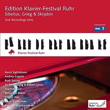 Sibelius, Grieg & Scriabine: Edition Klavier-Festival Ruhr, Vol. 34