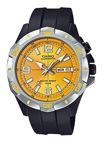 Casio Reloj Analógico para Hombre de Cuarzo con Correa en Plástico MTD-1082-9AVEF