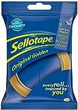 Sellotape Original Golden Sticky Tape