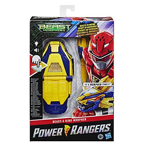 Power Rangers E75385G0 Elektronische Beast Morphers Beast-X King Morpher Figur Serie inspirierten Lichtern und Sounds