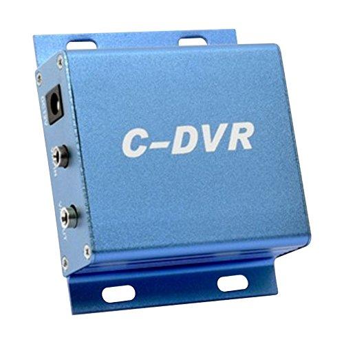 Mini DVR C-DVR Grabador de vídeo digital vigilancia TF tarjeta de apoyo de hasta 32 GB de metal CCTV cámara adaptador C DVR 640 x 480