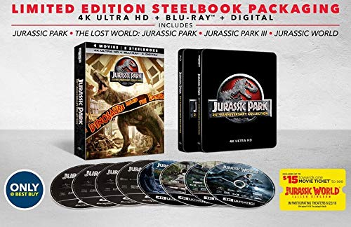 Jurassic Park: 25th Anniversary Collection [SteelBook] [4K Ultra HD Blu-ray]