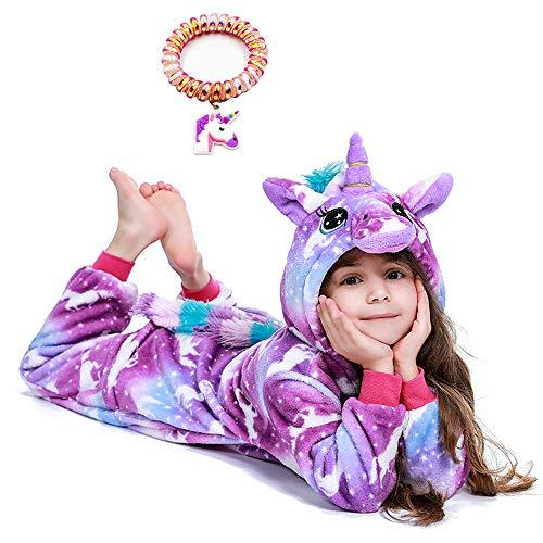 LANTOP Pijama de Unicornio para niños, Halloween, Cosplay