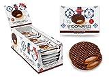 Daelmans chocolate stroopwafel 2 per pack 73g - pack of 18