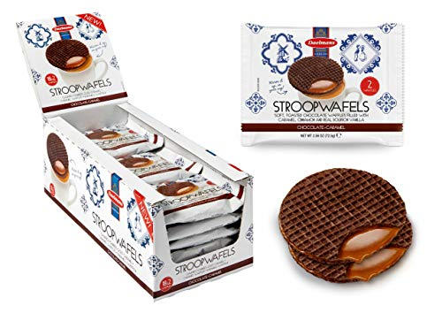 Daelmans Chocolate Stroopwafel 2 per pack 73g - Pack of 18