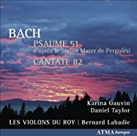 Psaume 51 / Cantate 82 by J.S. Bach (2009-08-25)
