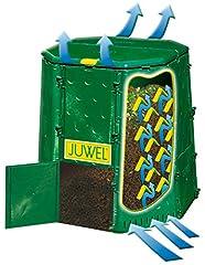 Juwel Premium Composteur Aeroquick 890 XXL (fermé, avec couvercle de charnière, résistant aux UV, capacité utile : 900 l) 20157