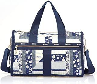 Lesportsac Essential Cr Small Weekender (Patchwork Blue)