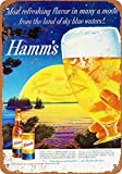 Taco Thursday Hamm's Beer Eisen malerei Vintage Metall