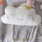 MYSdd Linda Almohada de Nube Almohada para niños Almohada Linda decoración de...