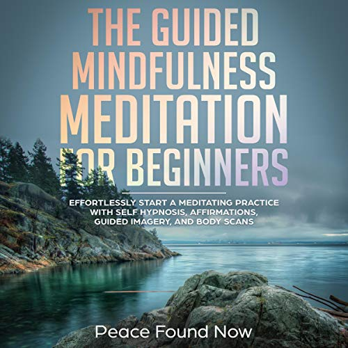 The Guided Mindfulness Meditation for Beginners audiobook cover art