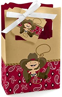 144 Pieces Western Cowboy Temporary Tattoos Western Elemental Stickers with Flannelette Bag Cowboy Party Accessories for Adult Children