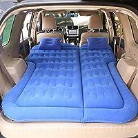 Easy to install 車インフレータブルベッドエアマットレスユニバーサルSUV車トラベルスリーピングパッドアウトドアキャンプマット子供リアエキゾーストパッドカーリアシート (Color Name : Blue)