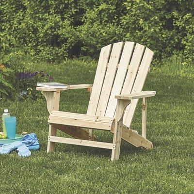 Leigh Country Fir Unpainted Adirondack Chair