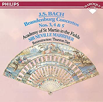 Bach, J.S.: Brandenburg Concertos Nos. 3, 4 & 5