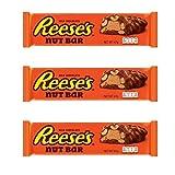Decoraciondulce Pack de 3 - Hershey's Reese's 47 Gr Nutrageous - Nut Bar