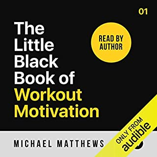 The Little Black Book of Workout Motivation audiobook cover art