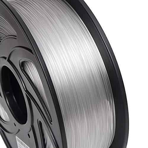 Junlianxianyanglijua 3D Pen Filament 1 kg de PETG Filament Noir Blanc ou Couleur Nue Nouveau Filament for imprimante 3D, Faible Poids (Color : Nude)