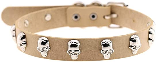 New Punk Cool Skull Kragen Chains Short Multilayer...
