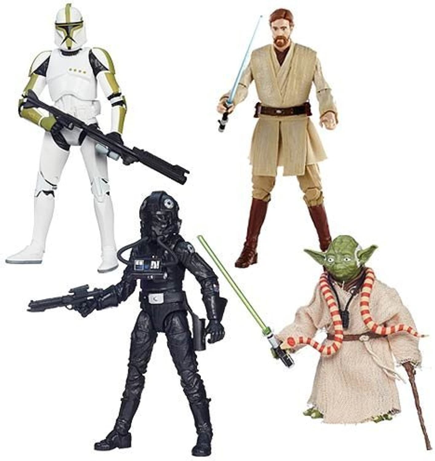 Star Wars Black Series 6inch Action Figures Wave 6 Set of 4 by Star Wars