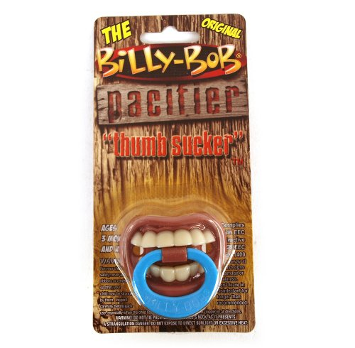 Billy Bob Witziger Baby-Schnuller mit Zähnen
