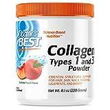 Doctor's Best Collagen Types 1 and 3 Powder Peach Flavored 8.1 oz (228 g)