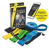 Let's Bands Powerbands Set MAX – Fitnessbänder für effektives Ganzkörpertraining