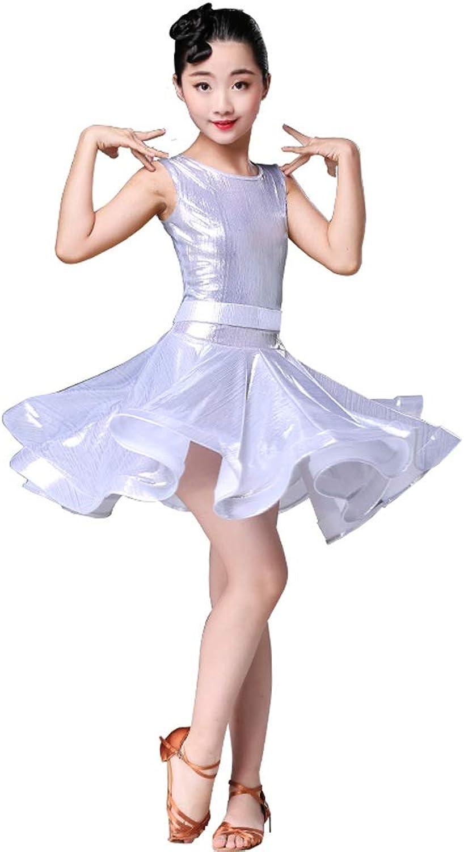 Jian E& Latin Dance Kostüm für Kinder Sommer Mädchen Latin Latin Latin Practice Kleidung Mädchen Wettbewerb Kostüme B07P5BPQSL  Gute Qualität cb4464