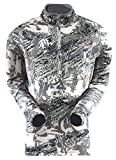 SITKA Gear Men's Traverse Zip-T Abrasion-Resistant Mid-Layer Camo Long Sleeve Hunting Pullover, Optifade Open Country, XXX-Large