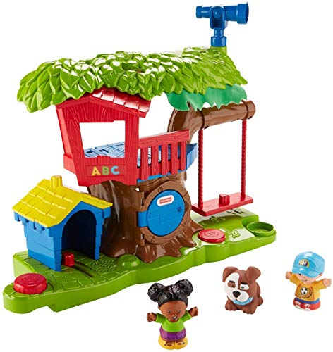 Fisher Price Little People Swing and Share Treehouse Playset [Amazon Exclusive]