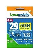 Best International Sim Cards - Lycamobile $29 Plan Prepaid Sim Card Including 4 Review