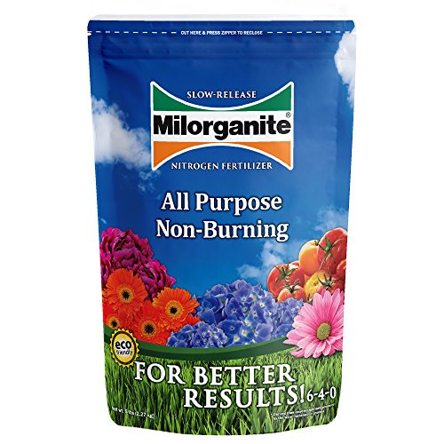 Milorganite Nitrogen Fertilizer All-Purpose Non-Burning