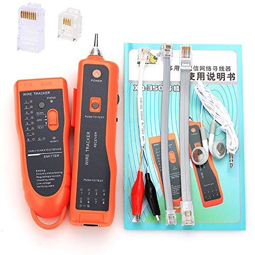Preisvergleich Produktbild CRUISER RJ11 RJ45 Cat5 Cat6 Telephone Wire Tracker Tracer Toner Ethernet UTP LAN Network Cable Tester Detector Line Finder by Cruiser