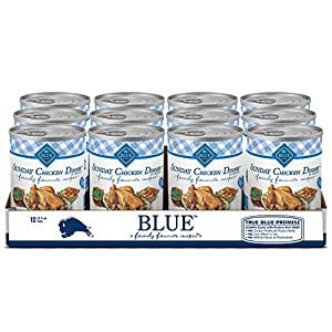 Blue Buffalo Family Favorites Grain Free Natural Adult Wet Dog Food, Sunday Chicken 12.5-oz cans (Pack of 12)