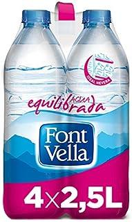 Font Vella Agua Mineral Natural - Pack de 4 x 2,5L