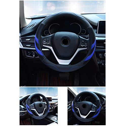 Alusbell Microfiber Leather Steering Wheel Cover