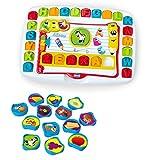 Chicco Banco Scuola Leggi e Impara Edu4You Bambini, Gioco Educativo Evolutivo Elettronico e Parlante per Imparare le Lettere dell'Alfabeto, Ispirato al Metodo Montessori, Giochi per Bambini 3-6 Anni