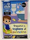 Lisciani Life Skills Cards Imparo A Togliere Il Pannolino Merchandising