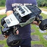 WGFGXQ Aleación de Gran tamaño Control Remoto Control Remoto para automóvil Todoterreno 2.4Ghz Controlado por Radio Race Buggy Hobby 4WD Charging Boy Short-Range High Speed SUV Drift Racing