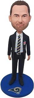 Professore Personalizzato Bobble Head Professore personalizzato Professore Professore Figurine Professore Cake Topper Mari...